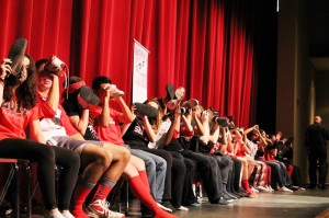 Lenape students are hypnotized!