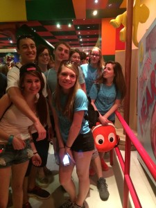 Seniors in Disney