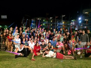 Seniors Light Up Disney for Ebo