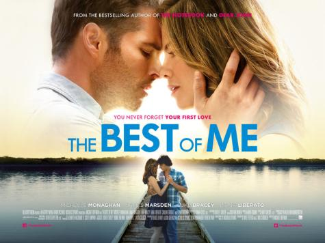 The movie poster for The Best of Me