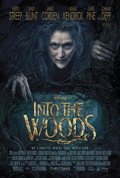 The movie poster for Into The Woods
