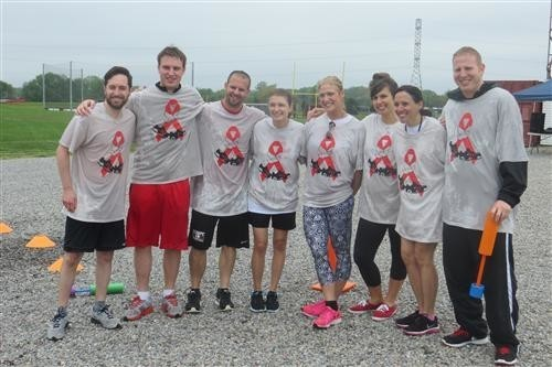 Lenape Staff at Aids Walk