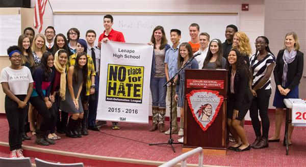 Lenape Named No Place For Hate School Third Year in a Row