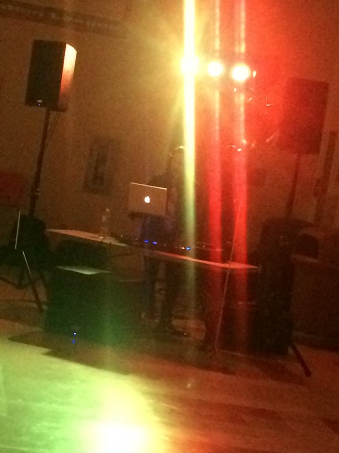 Lenape DJ stands alone at almost empty Sophomore Cotillion