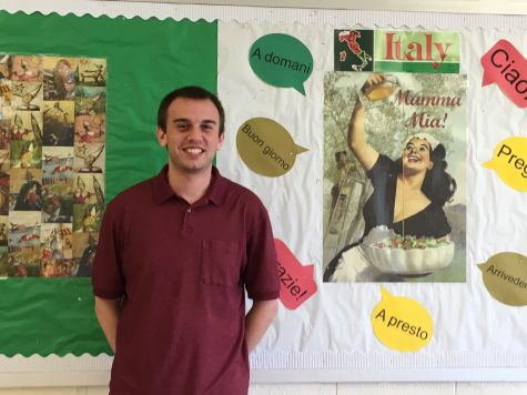 Benvenuto, Prof G – New Teacher Spotlight