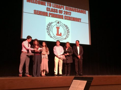 Seniors Participate in Annual Pinning Ceremony