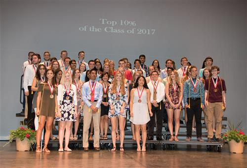 The top 10% of the class of 2017