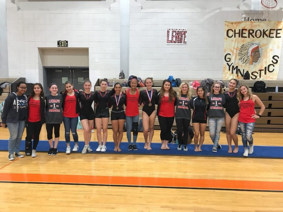 Lenape Girl's Gymnastics Team