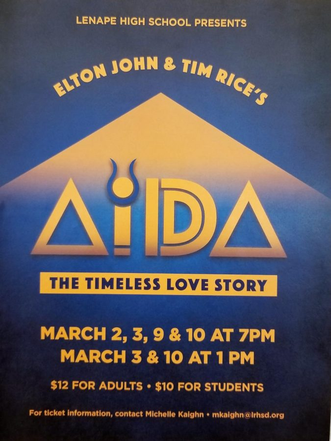 Lenape Theater Presents AIDA