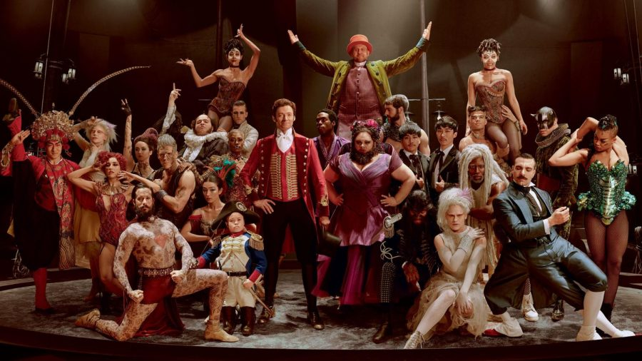 "The cast of ""The Greatest Showman"""