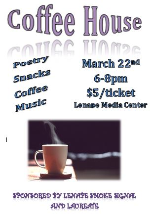 April 12th: Enjoy a Night Out at the Lenape Coffee House