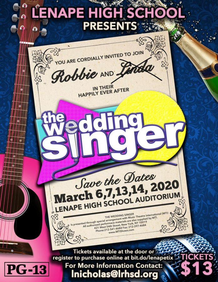 Lenape's Spring Musical: The Wedding Singer